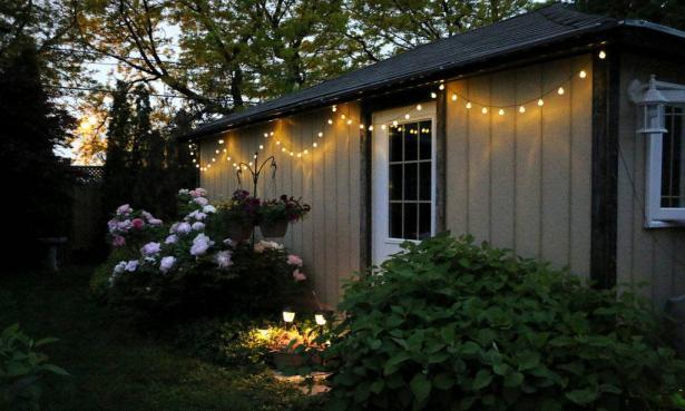 أفكار لإنارة حديقتك الخارجية