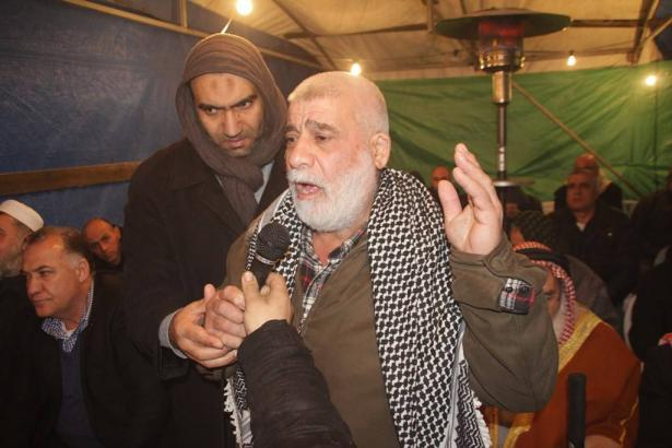 الناصرة: الحاج محمود الحسيني يتنازل عن دم ابنه