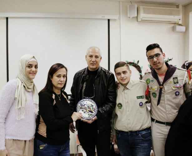 مؤسسة بيتنا والحركة الكشفية في الناصرة في زيارة للمركز اليومي للمسن وللمستشفى الانكليزي في الناصرة