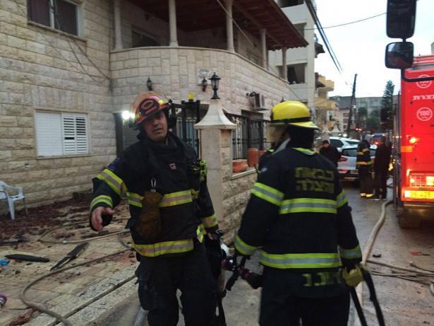 مصرع امير ابو نصرة من الناصرة واصابة طفليه في حريق في المنزل