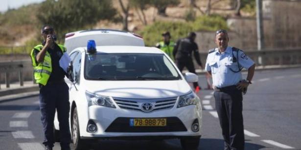 الناصرة: القاء حجارة اتجاه سيارة دورية شرطة