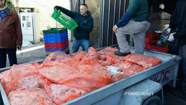 كفركنا: مصادرة 3.5 طن من اللحوم و1200 بيضة