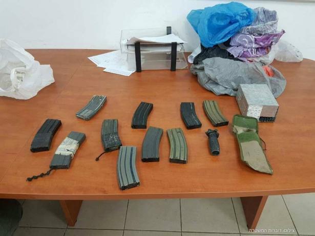 طوبا الزنغرية: ضبط اسلحة بكمية كبيرة