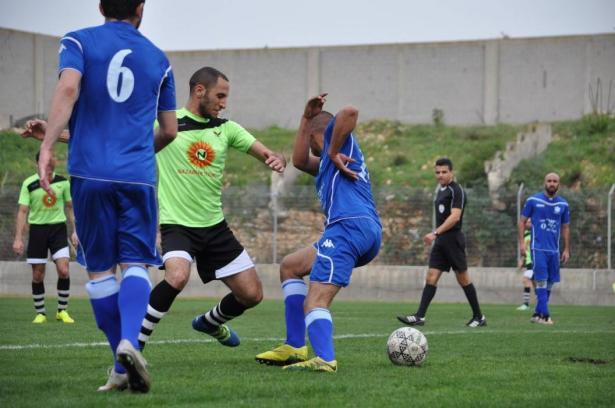النهضة الناصرة يفوزعلى مكابي اكسال 3-1