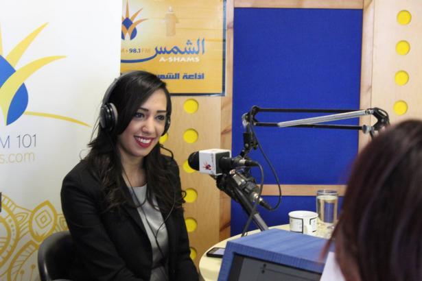 الشمس تستضيف نجمة Arab Idol نادين خطيب
