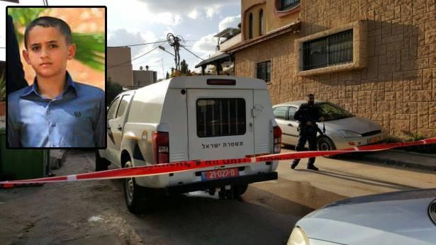 مصرع الطفل عبد الرحمن حنون من الطيبه بحادث دهس امام منزله