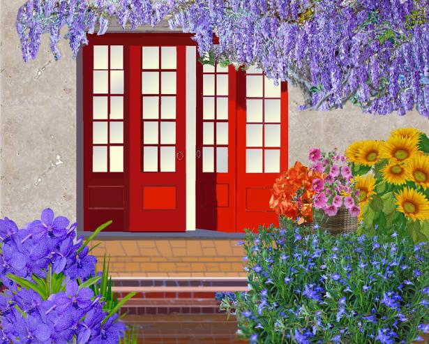 ألوان الربيع لديكور منزل انيق