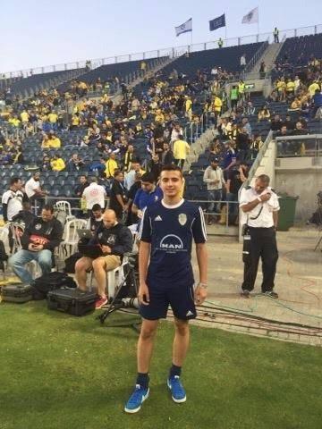 اللاعب ابن كفرياسيف ستيفان زايد الى منتخب اسرائيل