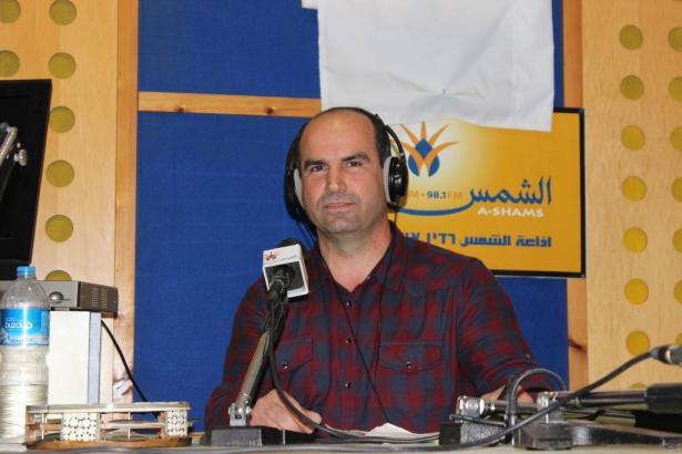 الشاعر الزجلي حسام برانسي ضيف برنامج سهرة حب عبر إذاعة الشمس