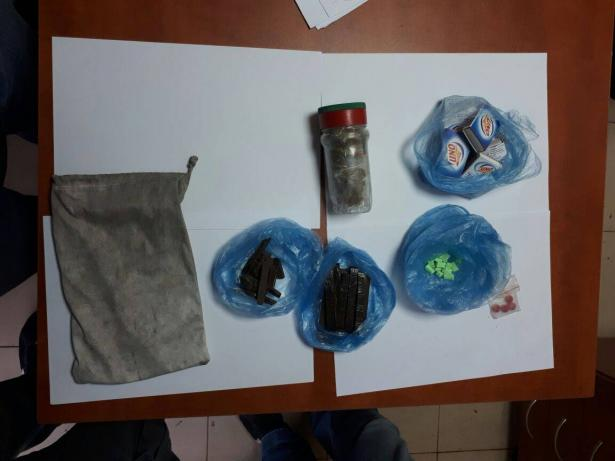 الكشف عن وكر مخدرات في كفرقرع