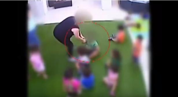الحكم على حاضنات بالسجن الفعلي سبعة اشهر لتنكيلهن باطفال (فيديو)