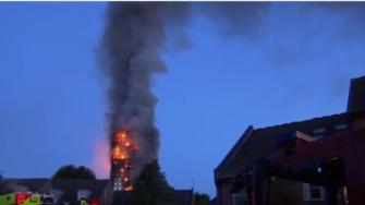 ارتفاع قتلى حريق لندن إلى 12