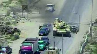 دبابة مصرية تحبط هجوما إرهابيا كبيرا