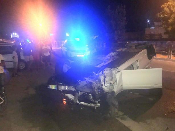 الزرازير: حادث طرقات واصابة شاب بالغة