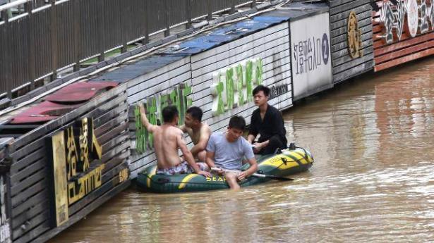 فيضانات تجتاح مناطق عدة في الصين