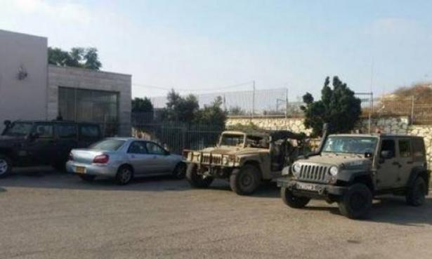 سخط في يافة الناصرة عقب احتلال ساحة مدرسة ابتدائية من قبل قوات الجيش