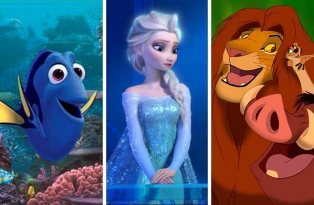 أعلى إيرادات لـ10أفلام رسوم متحركة