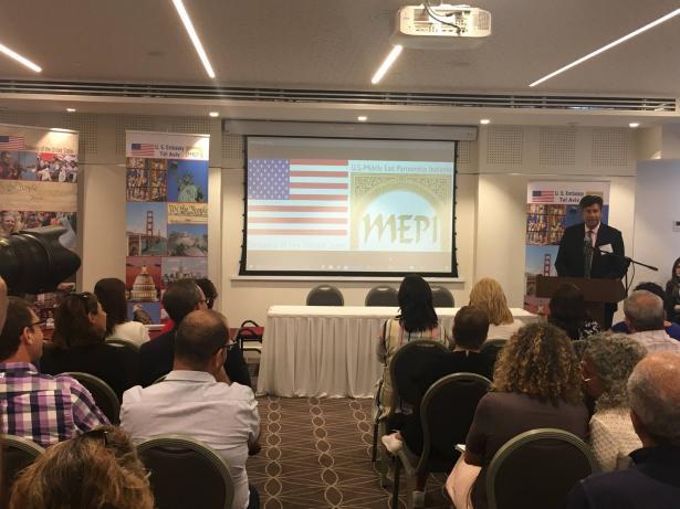 السفارة الامريكية تنطلق بمشاريع