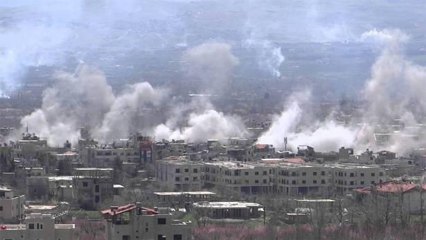 الجيش السوري يتهم مسلحين بتعمد استهداف الجولان