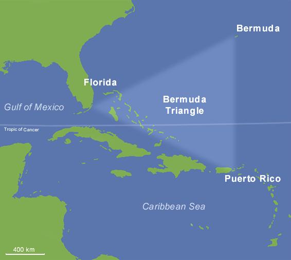 مثلث برمودا..جزر الشيطان !!!