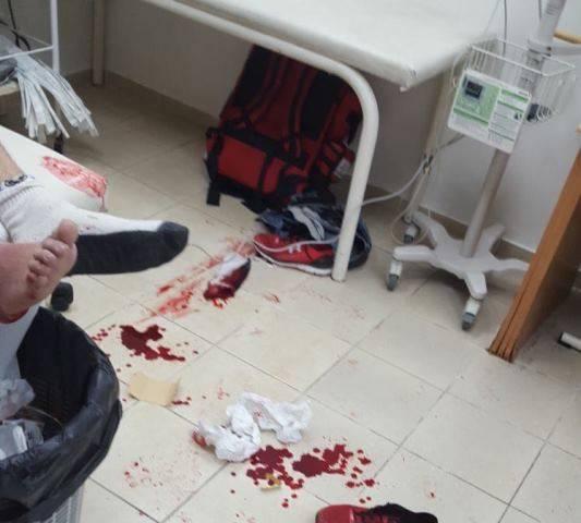 الطيبه: اصابة طالب بجراح متوسطة اثر تعرضه لطعنات بالسكين