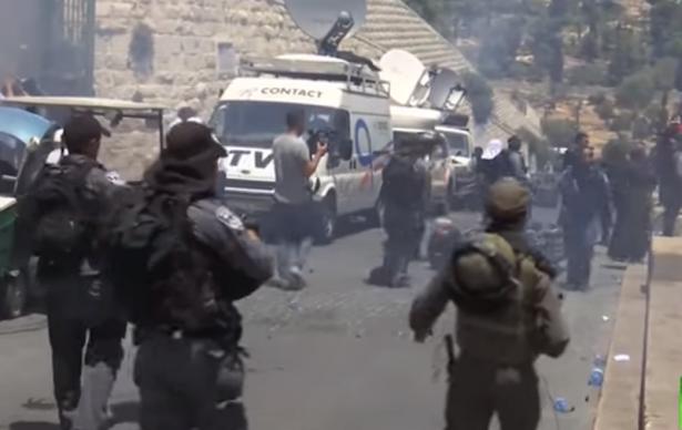 مواجهات تعم القدس والضفة الغربية