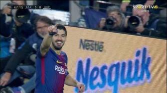 برشلونة يقسو على ديبورتيفو لاكورونيا قبل الكلاسيكو