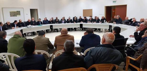 ام الفحم: اجتماع هام لبحث عبور خط الكهرباء في اراضي الروحة