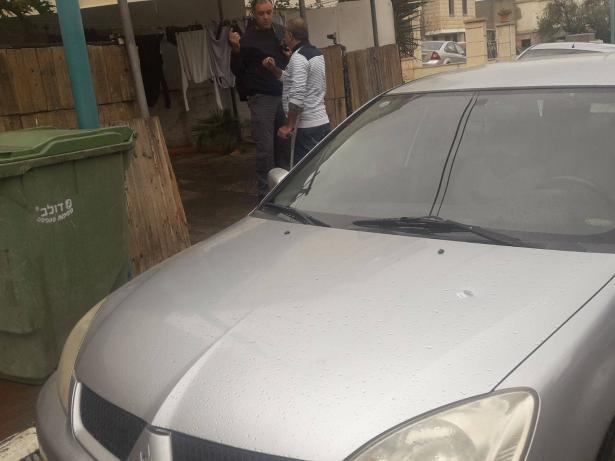 اطلاق رصاص والقاء قنبلة صوتية على بيت علي نابلسي في عرابة
