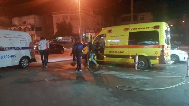 طمرة: اصابة شخصين باطلاق نار