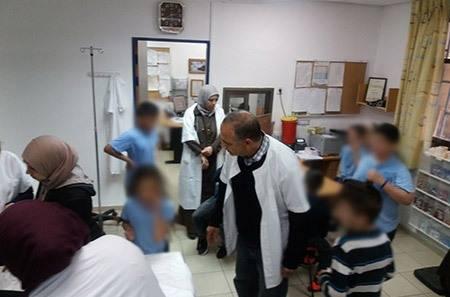 حادثة خطيرة ومستهجنة: مجهول يرش طلاب مدرسة في ام الفحم بغاز مسيل للدموع خلال عودتهم من المدرسة