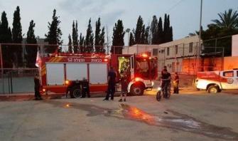 اثر اضرام النيران بمدرسة في الطيرة، معتز عراقي: علينا ان نخرج من من مرحلة ردود الفعل الى مرحلة الفعل