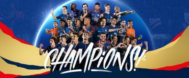 سان جيرمان يعذب موناكو ويتوج رسميًا بلقب الدوري الفرنسي