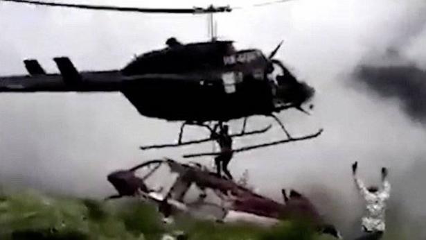 عملية إنقاذ تتحول لكارثة.. فيديو