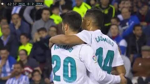 ريال مدريد يستعيد المركز الثالث بفوزه على ملقا