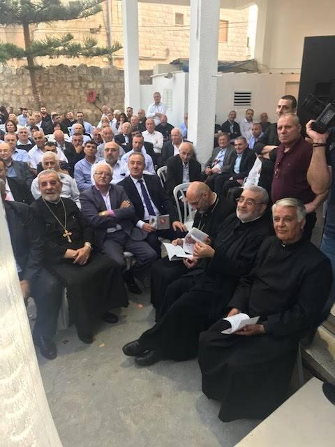 طرعان تحتفي بمرور اربعين عاما على كهنوت الاب نمر باسيليوس خوري