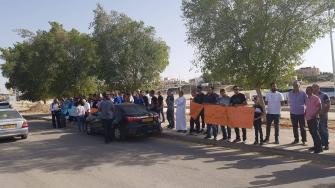علي دبسان للشمس عقب اعتداء الشرطة على شابين من رهط: