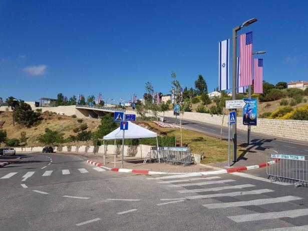 افتتاح السفارة الأميركية بحضور اليمين الإسرائيلي والأميركي في القدس