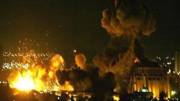 غارات اسرائيلية داخل الأراضي السورية ردا على قصف الجولان