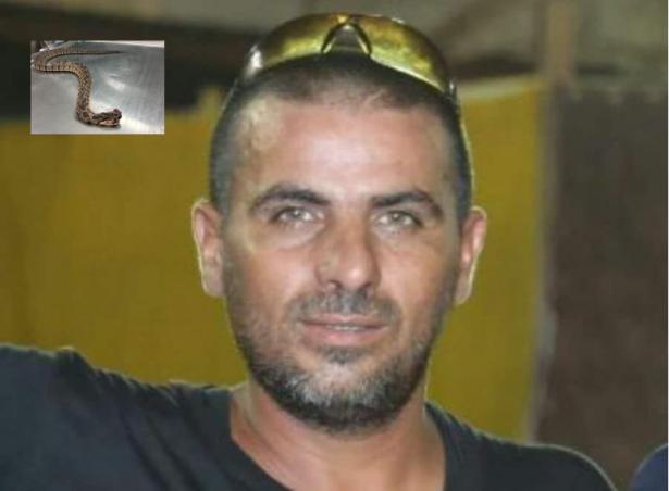 فاجعة في عيلوط: وفاة الشاب محمود عبود بعد ان لدغته افعى