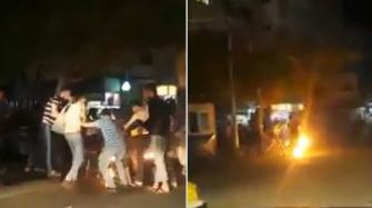 """فلسطيني من غزة يُشعل النار في جسده .. وهو يحترق يصرخ شاتماً: """"يلعن أبو الحكومة"""""""