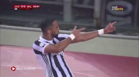 يوفنتوس يهزم ميلانو ويحرز لقب كأس إيطاليا لكرة القدم