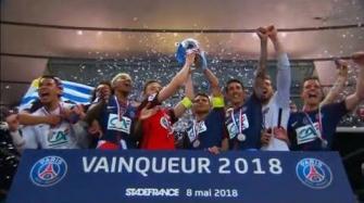 باريس سان جيرمان يتوج بلقب كأس فرنسا ويحقق الثلاثية المحلية