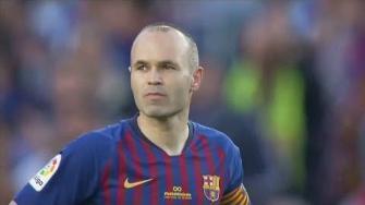 برشلونة يتوج موسمه بفوزه على ريال سوسييداد في ليلة وداع