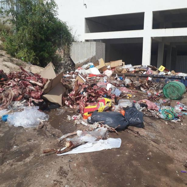 المحكمة المركزية تقرر اغلاق مكب اللحوم في شفاعمرو