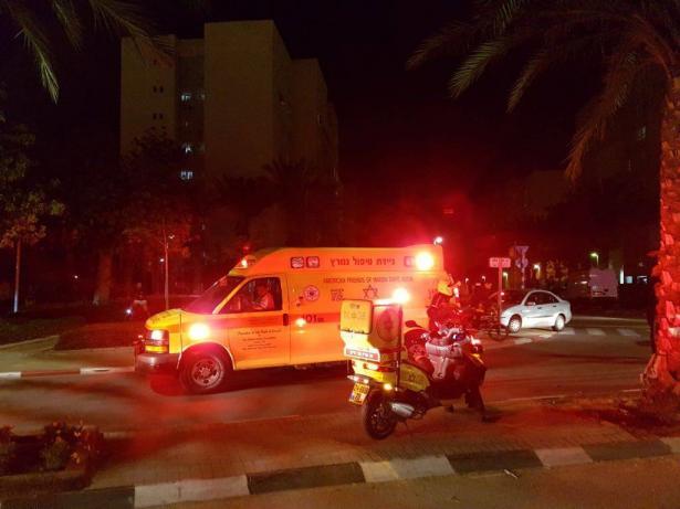 اصابة طفل بانفجار مفرقعات