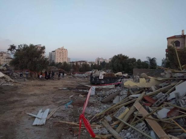اللد: هدم 4 منازل بملكية مواطنين عرب