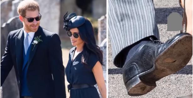 حذاء الأمير هاري يثير موجة من السخرية