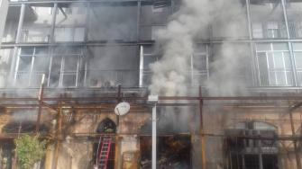 هل كان حريق يافا  الذي اودى بحياة رجل وزوجته متعمدًا