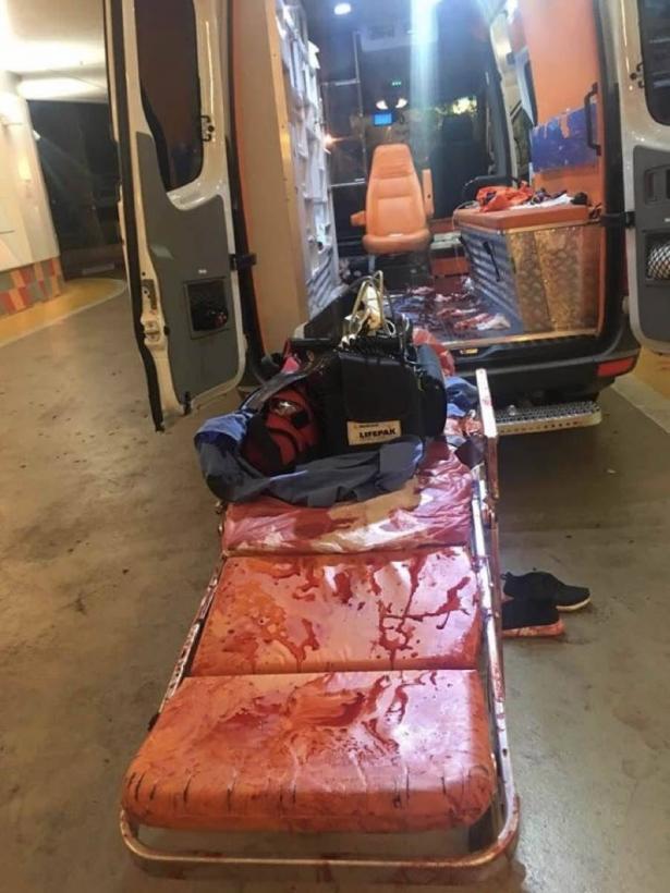 اصابة شاب (20 عامًا) بجراء حرجة اثر حادث طرق مروّع في البعنة